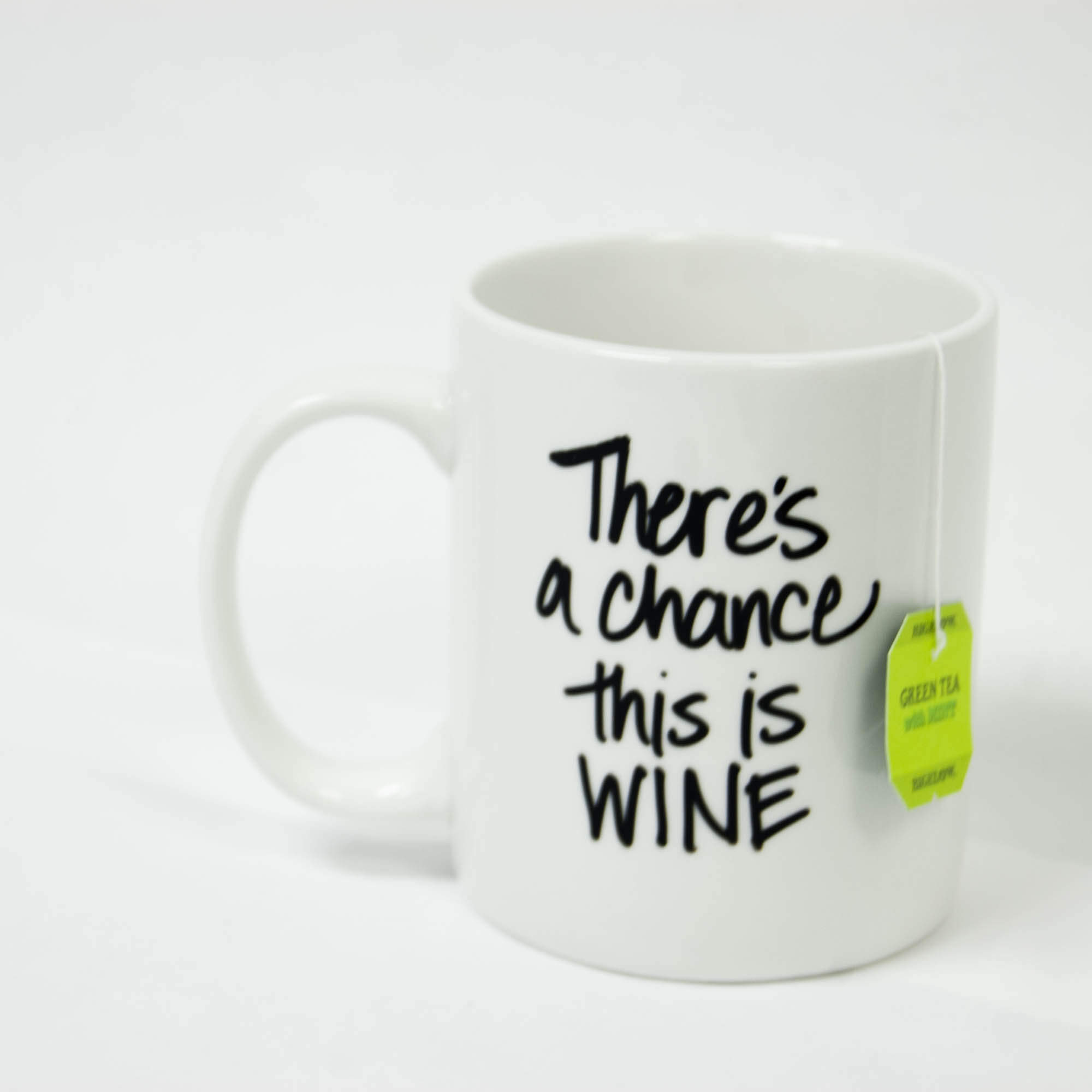 There's a Change This is Wine Mug